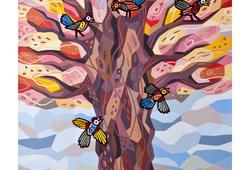 Tree of Life Happy All Seaseon Spring
