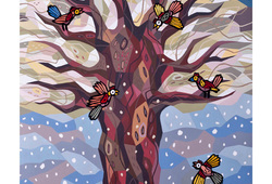 Tree of Life Happy All Seaseon Winter