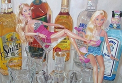 Barbie Martini