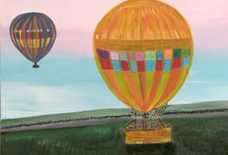 Balooning in Masai Mara Africa
