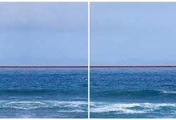 (Extended) Seascape with Red Horizon – After Sugimoto