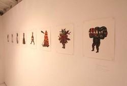 Langkah Resah, exhibition view