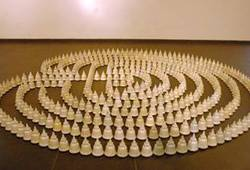Cosmic Labyrinth: The Stupas