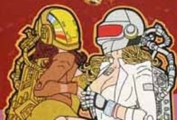 Ms. Daft and Ms. Punk Are Crazy About C-3PO