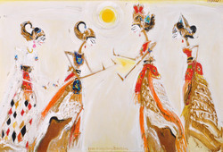 Puppets from Memayu Hayuning Bawono