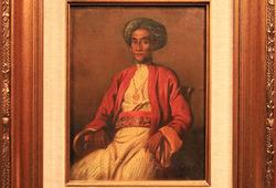 Potret Pangeran Sjarif Alkadri Pontianak