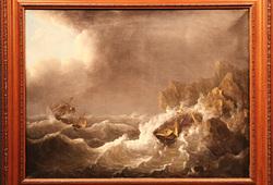 Kapal Dilanda Badai