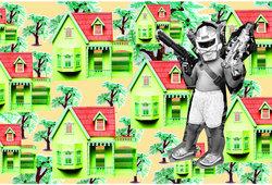Robot Penjaga Rumah
