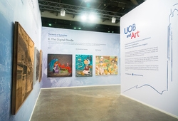 UOB Artspace at Art Stage Singapore 2018