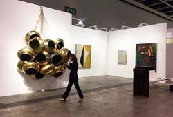 Arario Gallery Booth at Art Basel Hong Kong 2018