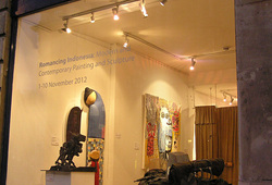"A Group Exhibition ""Romancing Indonesia"""