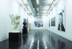 "A Group Exhibition ""Collective Ground: The Gallery in The Midst of Market And Discourse"""