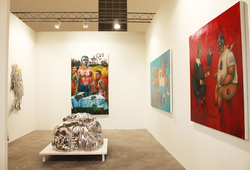 "A Group Exhibition ""Art Stage Singapore 2012"""