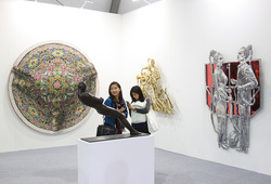 Marc Strauss at Art Basel Hong Kong 2015